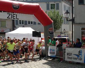 Start zum 2. Wertungslauf in Welzheim